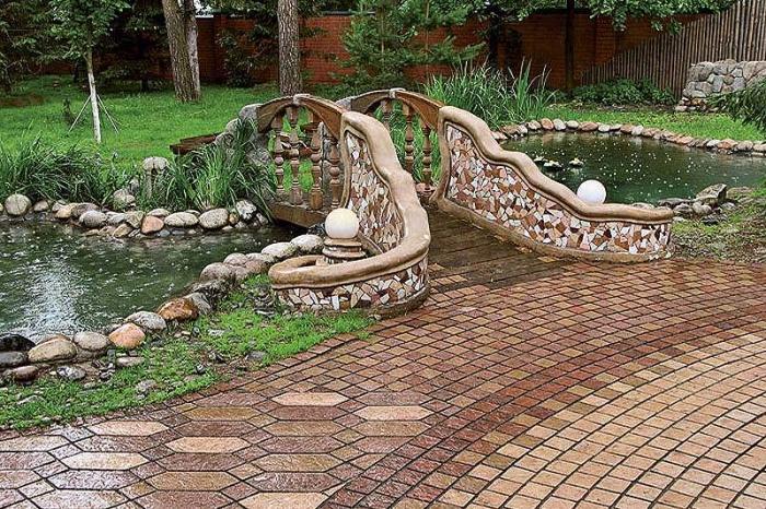 Изделия из камня в ландшафтном дизайне