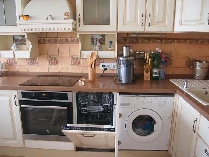 Встраиваемая кухонная бытовая техника