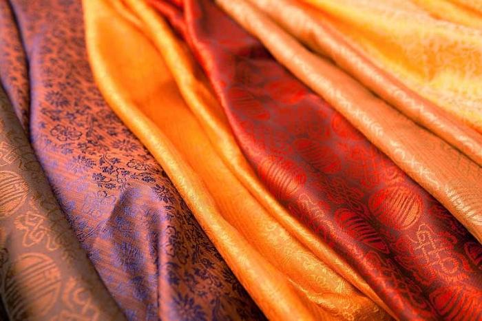 Типы тканей для штор