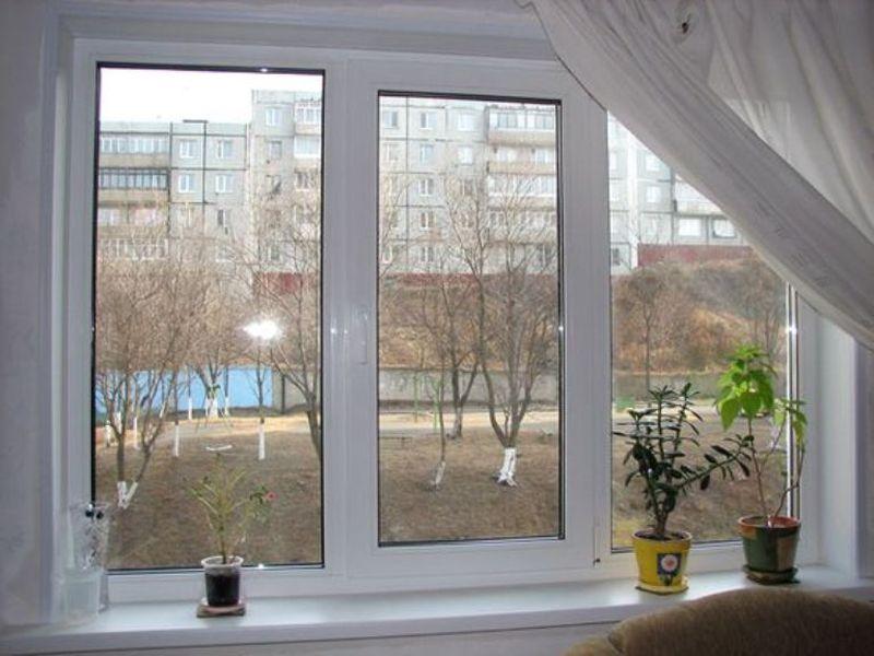 Веранда с окнами пристроенная к дому