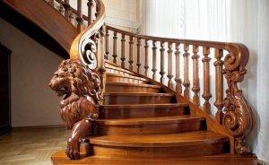 Дизайнерские деревянные лестницы