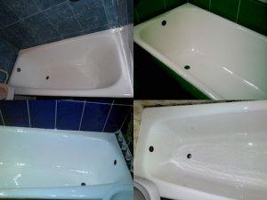 Реставрация ванн при помощи жидкого акрила