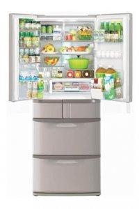 Холодильник с верхней морозильной камерой hitachi