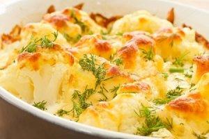 Грибы запеченные с картофелем