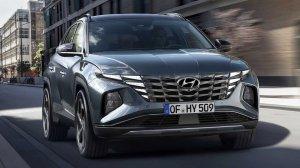 Новый Hyundai Tucson с революционным дизайном